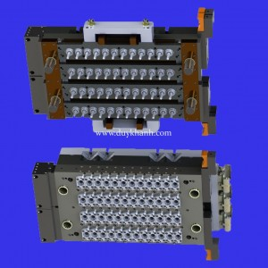 Injection mold for PET Preform 48 Cavity