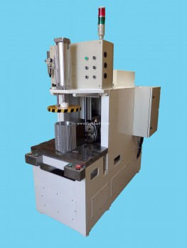 Horizontal twin spindles drilling machine