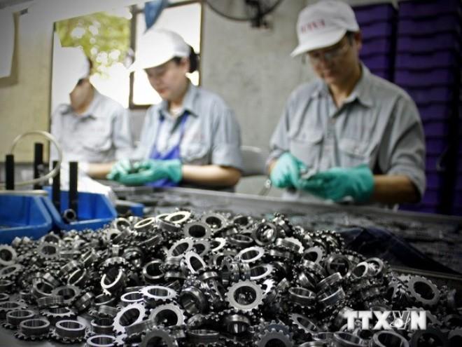 Công nghiệp hỗ trợ trong nước chỉ mới đáp ứng 30% nhu cầu