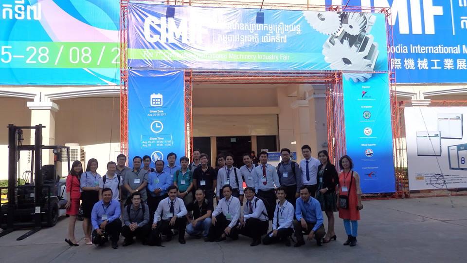 Công Ty Cơ Khí Duy Khanh và Đoàn HAMEE tham gia Chương trình XTTM tại thị trường Campuchia
